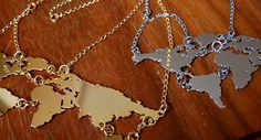 The whole world necklace  I want!!