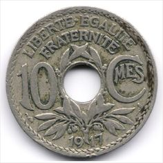 France 10 Centimes 1917 Listing in the France,Europe (Non & Pre €),Coins,Coins & Banknotes Category on eBid Belgium