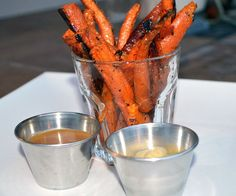 Delicious roasted carrot fries - Girls Gone Sporty