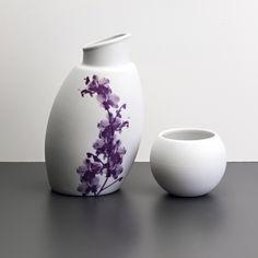 Moringa Orquídea - Porcelana Fosca