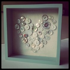 Silver Threads of Happiness: Button-ey love