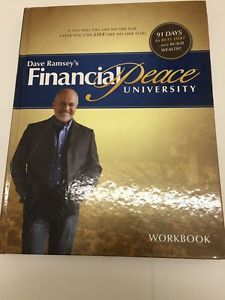 Financial Peace University By Dave Ramsey Workbook