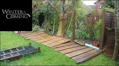 Will your garden be able to withstand this winters winds? Give us a call on 07510 188995 Garden Fencing, Garden Landscaping, Fence, Garden Landscape Design, Cardiff, Winter Is Coming, Garden Bridge, Outdoor Structures, Outdoor Decor