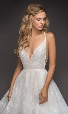 Courtesy of Hayley Paige Wedding Dresses from JLM Couture; Wedding dress idea.