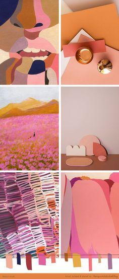 Stunning warm color palette
