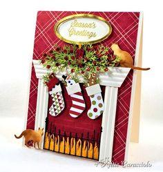KittieKraft - Kittie Caracciolo Memory Box Cheerful STockings 1 right