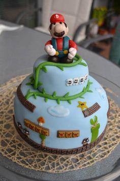 Super Mario Cake (:
