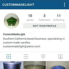 CustomMadeLight Candles!  All natural soy based candles!