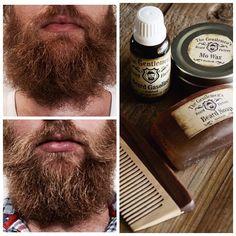 Before and after with Epic beard products from @thegentlemansbeardfactory  @stationcoffeecompany @bubbles9204  #beard #beards #beardgang #beardman #beardporn #beardoils #beardsoap #beardwax #beardcomb #beardgrooming #flippenlekka #dngrated #stationcoffeecompany by deanthorgrobler