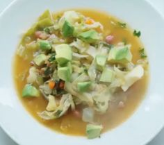 Meal From World : Mexican Cabbage Soup