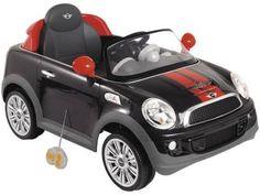 Carro Elétrico Infantil Mini Cooper - com Controle Remoto 2 Marchas - Kiddo