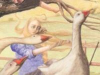 De ganzenhoedster