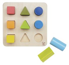 Amazon.com: Hape - Color and Shape Wooden Sorter: Toys & Games