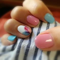 Nails, short nail designs, nail designs spring, shellac nails, nail m Shellac Nails, Diy Nails, Cute Nails, Pretty Nails, Nail Polish, Acrylic Nails, Pretty Short Nails, Gorgeous Nails, Fall Nail Art Designs