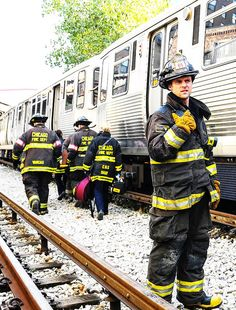 Chicago Fire: Casey and the boys at work   Shared by LION