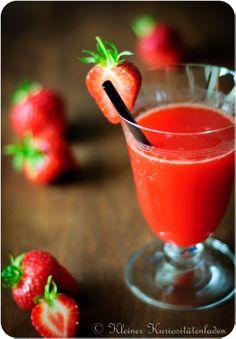 Eine Frage der Beere: Erdbeerlimes und Frozen Strawberry Limes