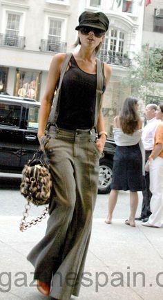 Pantalones y bolso