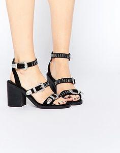 ASOS | ASOS TACO Western Heeled Sandals | $66