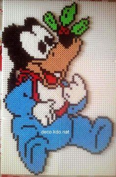 bébé dingo est prêt....  pour ce modèle: 2683 perles     prix de vente terminé: 15.20€