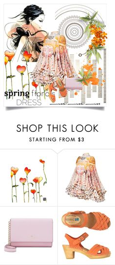 """Sweet Spring Dresses"" by lacas ❤ liked on Polyvore featuring Masha D'yans Design, Mary Katrantzou, Kate Spade, Toast and springdress"