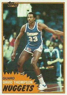 Basketball History, Basketball Cards, Nba Basketball, Football, David Thompson, Nate Archibald, Trading Card Database, Nba Players, Time Capsule