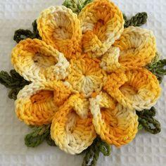 Shell Flower - Walkthrough - Croche.com.br