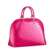 Cartera de mano Louis Vuitton Fucsia