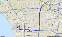 Driving Directions from Los Angeles International Airport (LAX) in Los Angeles, California 90045 to 1111 S Figueroa St, Los Angeles, California 90015 | MapQuest