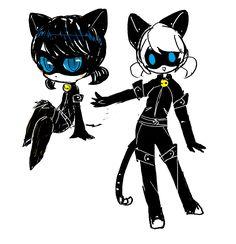 cat noir marinette