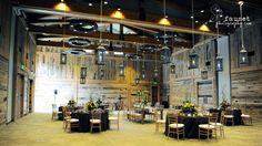 Rustic Wedding Decor - Barn Lanterns. Utah Mountain Weddings from Alpine Event Rentals.