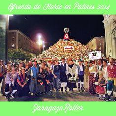 Ofrenda de Flores en Patines. Concert, Roller Blading, Flowers, Concerts