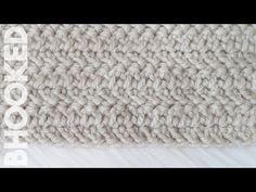 How to Crochet the Herringbone Double Crochet - YouTube