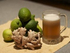 Ginger beer is ginger ale's sinister cousin: much or ginger and a little less sweet, but still (mostly) non-alcoholic. It can be made easily at home with simple ingredients and materials.
