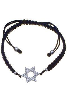Sterling Silver Adjustable Star Bracelet
