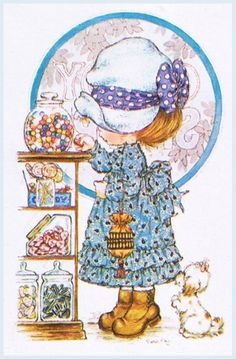 Immagini Sara Kay e Holly Hobbie Sarah Key, Holly Hobbie, Vintage Cards, Vintage Postcards, Cute Images, Cute Pictures, Mary May, Thomas Kinkade, Beatrix Potter