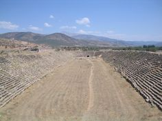 a Roman hippodrome in ancient city of Aphrodisias, Turkey