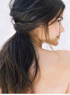DIY Brautfrisur für lange Haare von Heather Hawkins