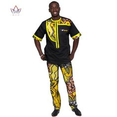 2018 Summer Mens African Clothing Plus Size African Clothes Sport Man Mens Clothing for Men 2 Pieces Plus Size BRW African Wear Styles For Men, African Shirts For Men, African Clothing For Men, African Clothes, African Inspired Fashion, African Men Fashion, Africa Fashion, Custom Made Clothing, Sport Outfits