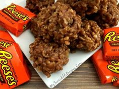 No Bake Reeses Krispy Cookies! – My Incredible Recipes