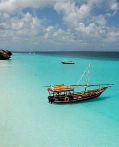 Zanzibar is the beach made of dreams. Soft white sand, perfect sky's and a warm sea. Zanzibar is an island off Africa. Oh The Places You'll Go, Places To Travel, Places To Visit, Most Beautiful Beaches, Beautiful Places, The Tourist, Zanzibar Beaches, Zanzibar Honeymoon, Awesome