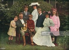 Edith Roosevelt, Theodore Roosevelt Jr, Alice Roosevelt, Roosevelt Family, Eleanor Roosevelt, American Presidents, Us Presidents, New York Coffee, Today In History