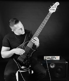 Goran Vujic   professional bassist   picture by :  Andy Patrick Hensel   © Copyright : Andy Patrick Hensel