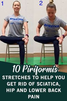 These 10 piriformis stretches offer incredible effects in the treatment of sciatica pain. Yoga For Sciatica, Sciatica Stretches, Sciatica Pain Relief, Back Pain Relief, Sciatic Pain, Sciatic Nerve Exercises, Back Pain Exercises, Hip Stretching Exercises, Health Fitness