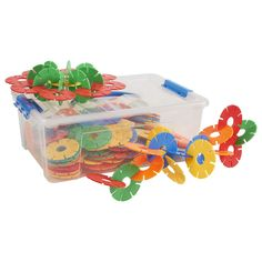 ECR4Kids Jumbo Connect-a-Cog Math Manipulatives Building Kit, Educational Sensory Learning Toys for Children (240-Piece Set) -- Be sure to check out this awesome product. (This is an affiliate link)