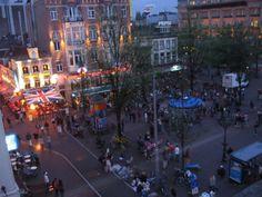 leidseplein-night - amsterdam