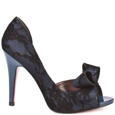 Senorita - Navy Lace  Paris Hilton