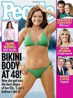 Valerie Bertinelli Shows Off Her Bikini Body in People Magazine for the 1000th time....and will again....