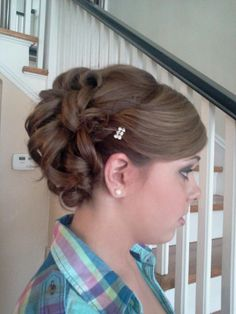 Peachy Updo Military And The Military On Pinterest Short Hairstyles Gunalazisus