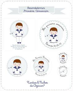 Recordatorios Primera Comunión First Communion, Printables, Scrapbook, Invitations, Stickers, Gifts, Diy, Google, Ideas