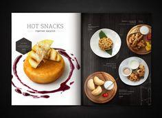 RAGU cafe | Identity | elements | menu by Feel Factory, via Behance